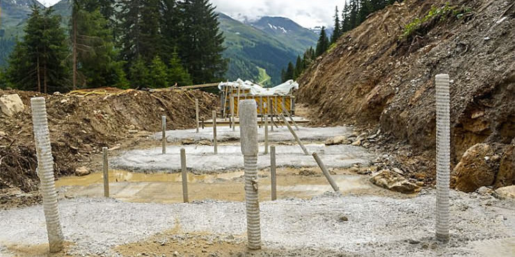 Self Drilling Rock Anchors Secure New Ski Route in St. Anton am Arlberg