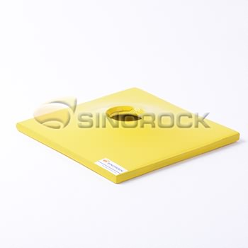 self drilling rock anchor plate