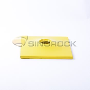 self drilling rock bolt plate