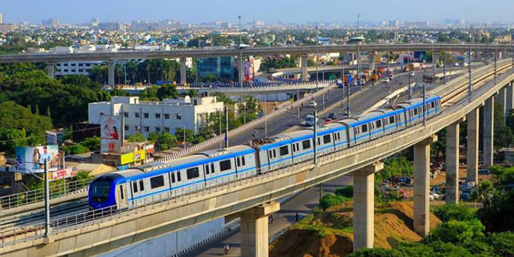 Chennai Metro Rail Extension Approved