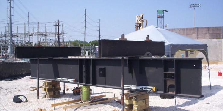 Load Testing Setup for Self Drilling Rock Anchor