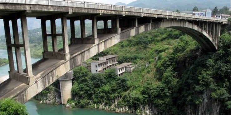 Rock Anchor for Yachi River Bridge